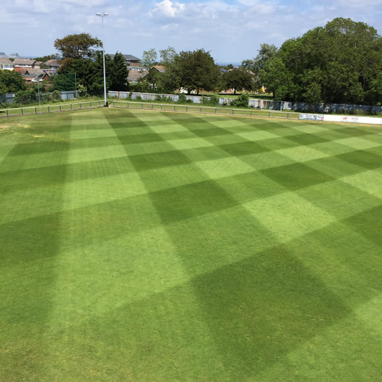 cowes sports football club pitch maintenance andy butler sports ground specialist dec 2018